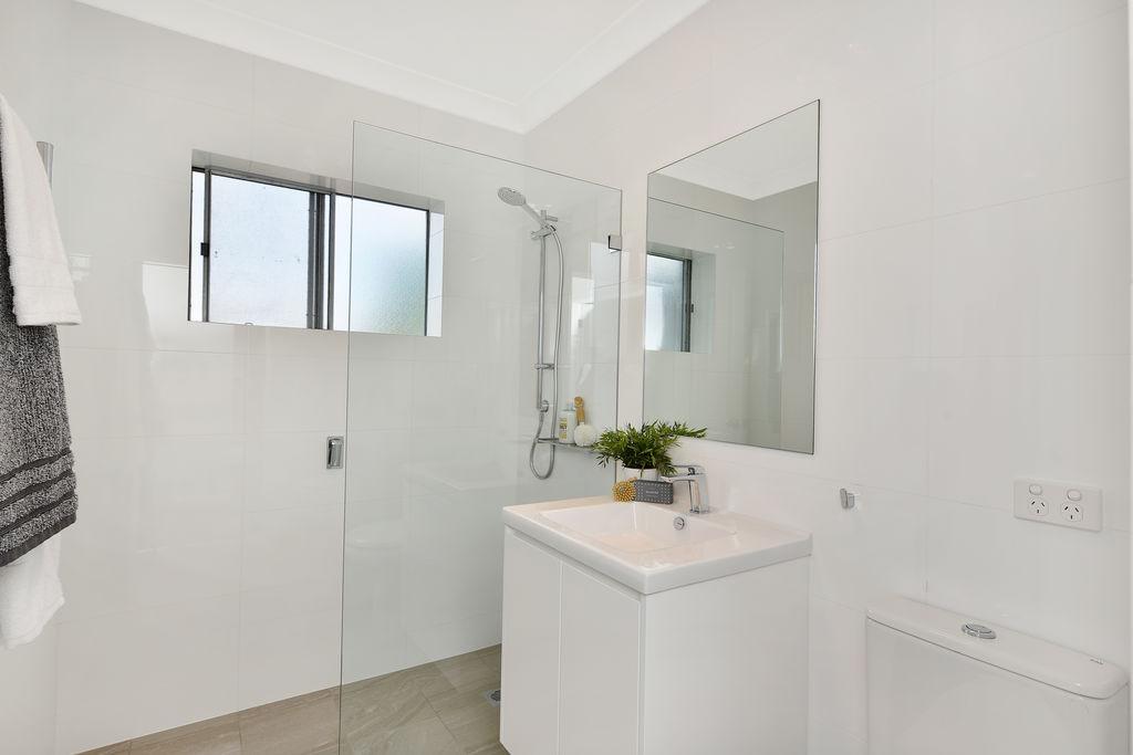 Apartment renovation in Mosman, bathroom renovation