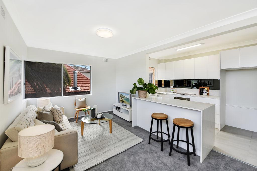 Apartment renovation in Mosman, kitchen renovation