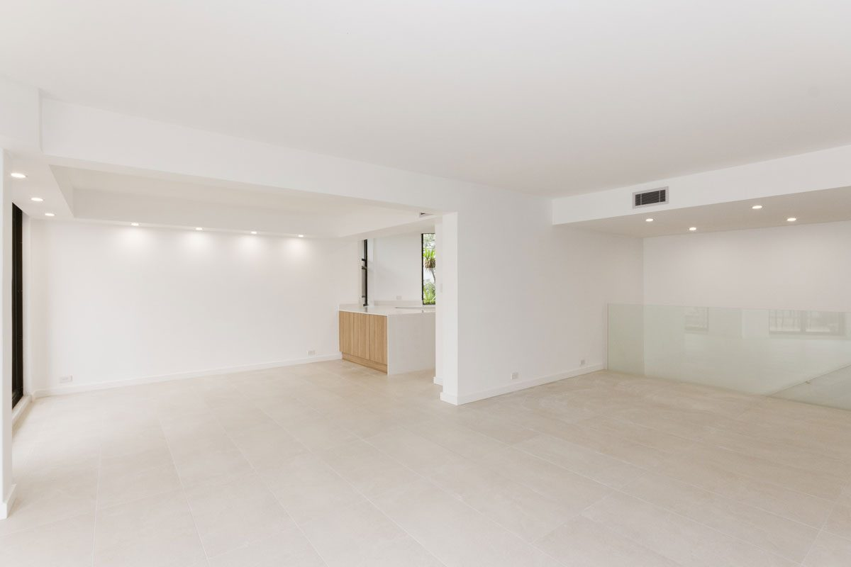 Apartment renovation Sydney Manly living after photo renopack