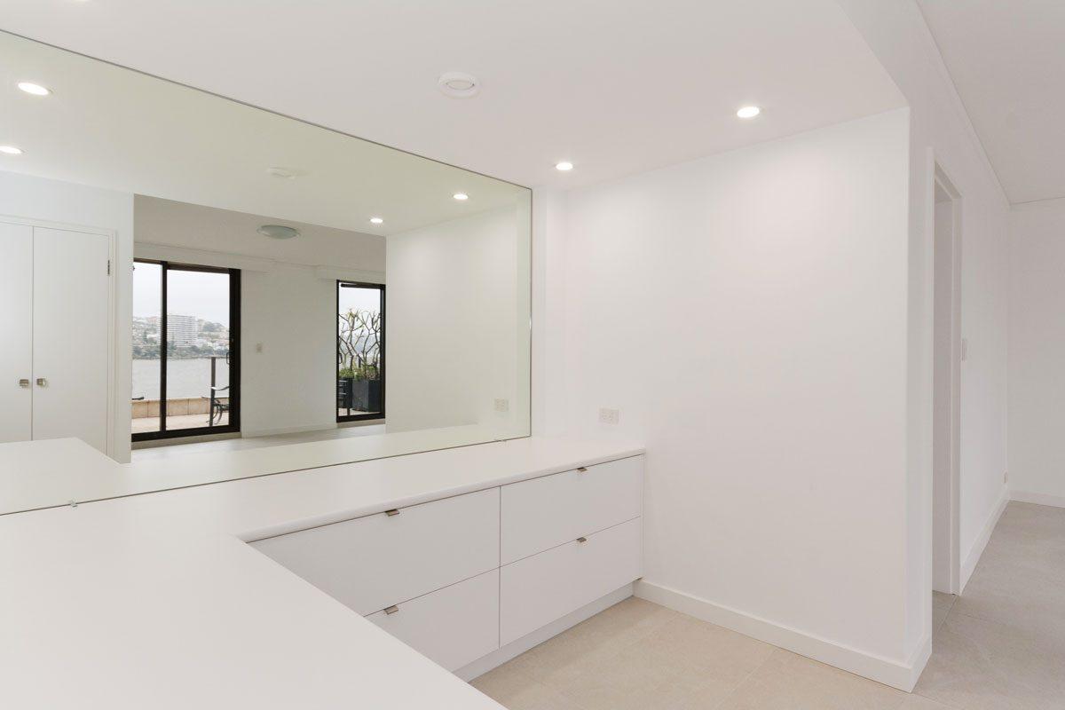 Apartment renovation Sydney Manly study desk after photo renopack