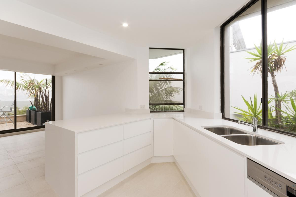 Apartment renovation Sydney Manly kitchen after photo renopack