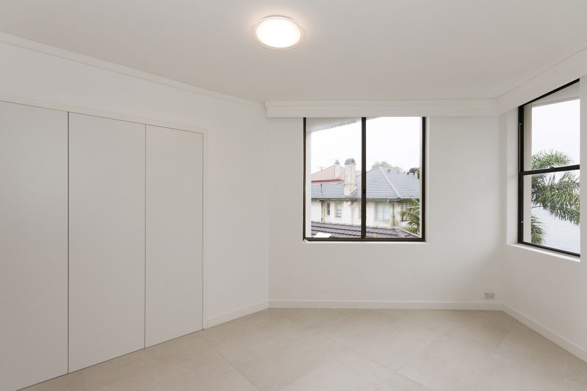 Apartment renovation Sydney Manly bedroom after photo renopack