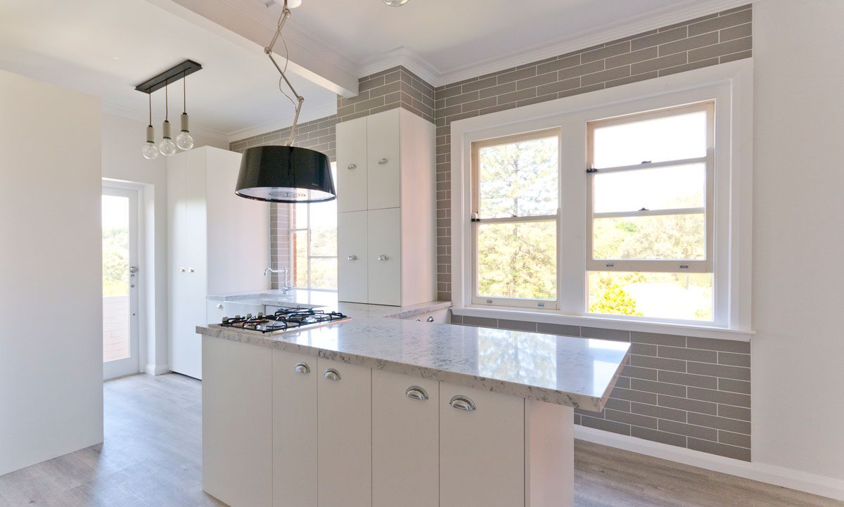 Apartment renovations Sydney renovators Silestone benchtop renopack kitchen