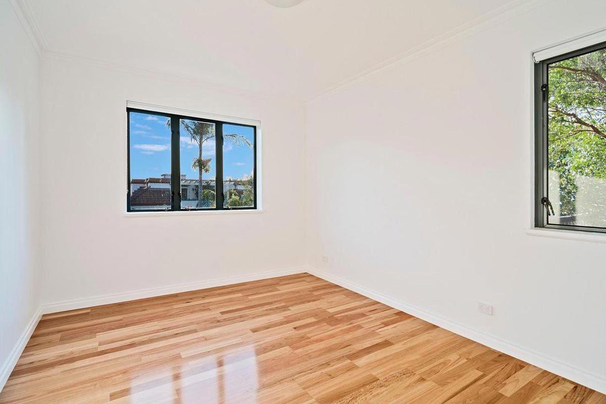 Apartment renovation Sydney Cremorne bedroom after