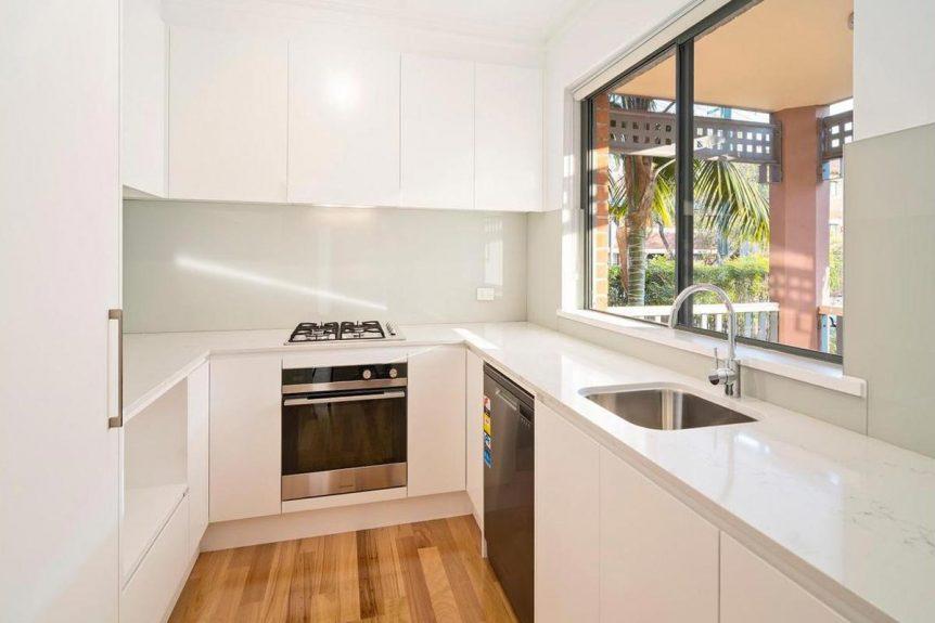 Apartment renovation Sydney Cremorne kitchen after