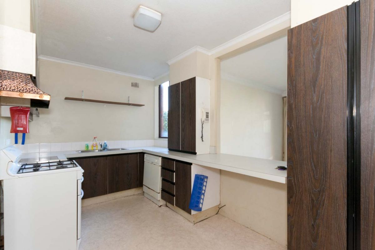 Apartment renovation Sydney Neutral Bay kitchen before renovation by Reno Pack