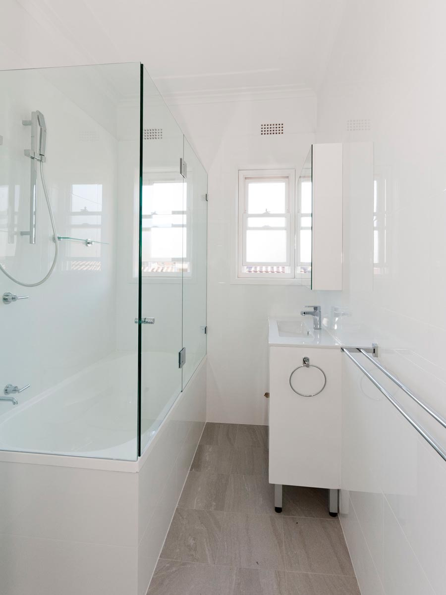 Apartment renovation Sydney, bathroom renovation Bellevue Hill, by Reno Pack