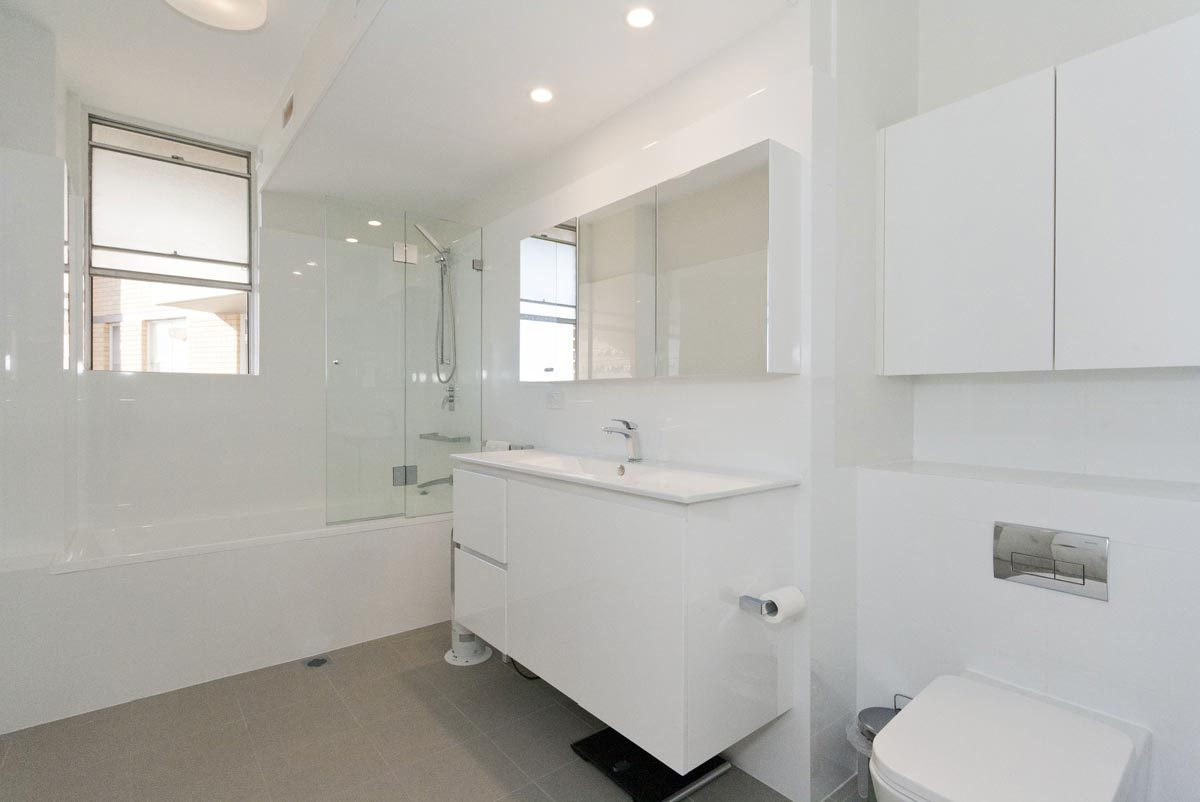 Apartment renovation Sydney bathroom renovation Dee Why Reno Pack