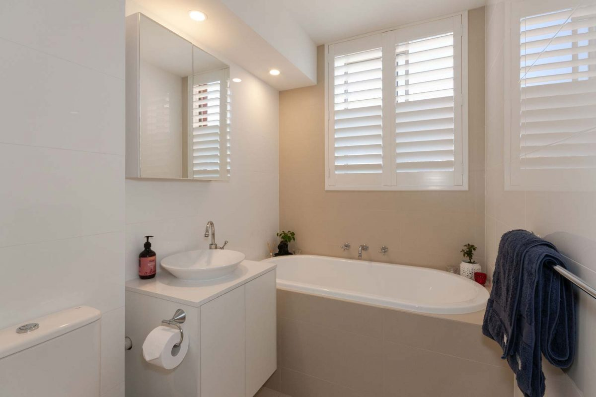 Apartment renovation Sydney bathroom renovation Chiswick Reno Pack