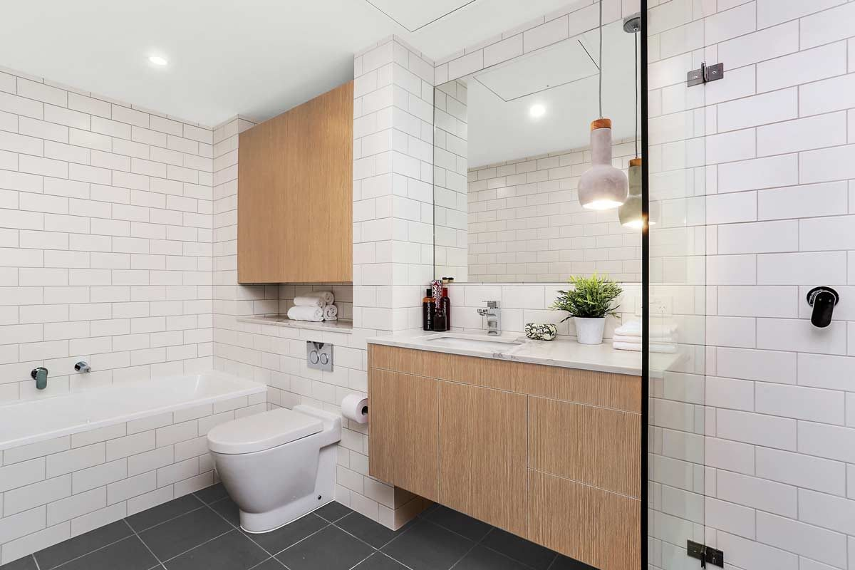 Apartment renovation Sydney bathroom renovation Neutral Bay by Reno Pack