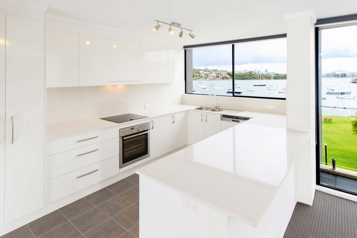 Apartment renovation Sydney, kitchen renovation Drummoyne by Reno Pack Pty Ltd