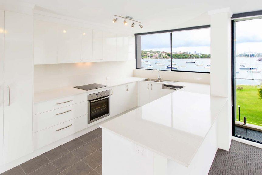 Apartment renovation Sydney, kitchen renovation Drummoyne by Reno Pack Pty Ltd