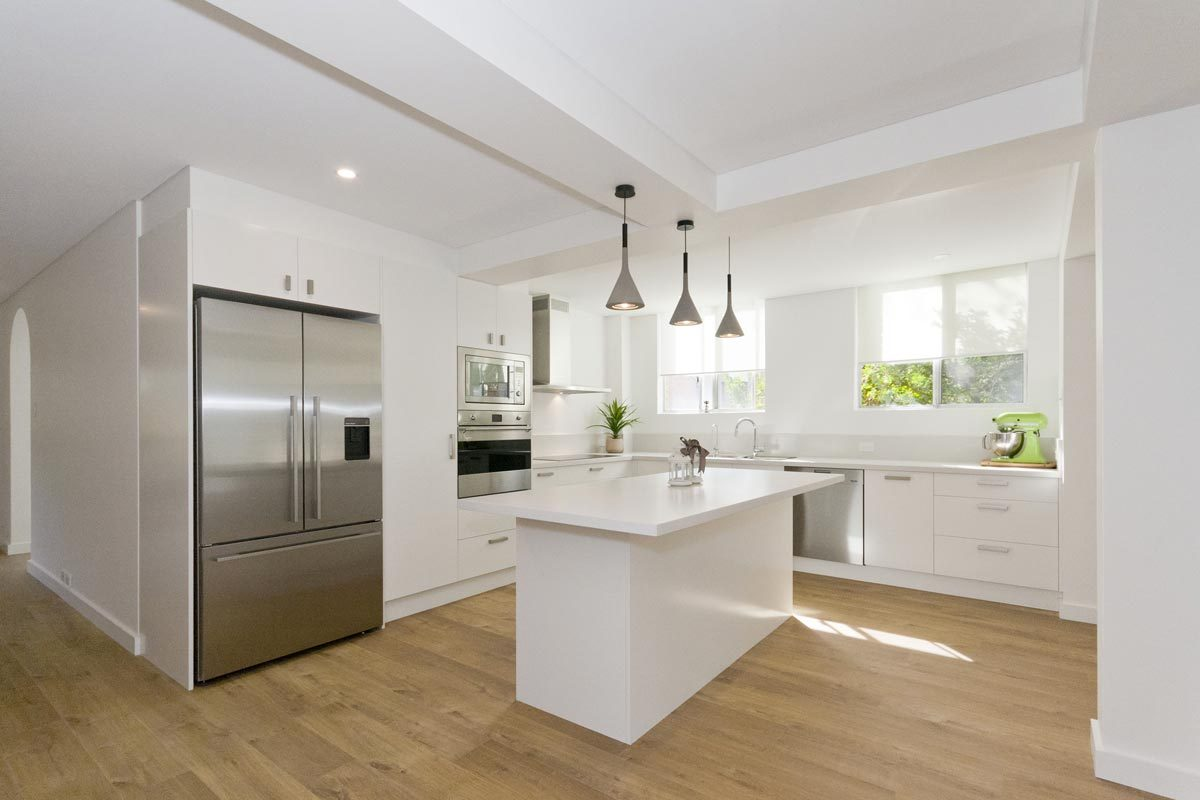 Apartment renovation Sydney, Glebe kitchen renovation by Reno Pack Pty Ltd