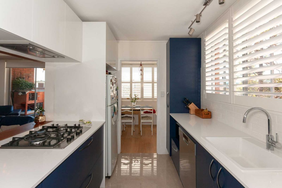Apartment renovation Sydney unit renovation Chiswick kitchen Reno Pack