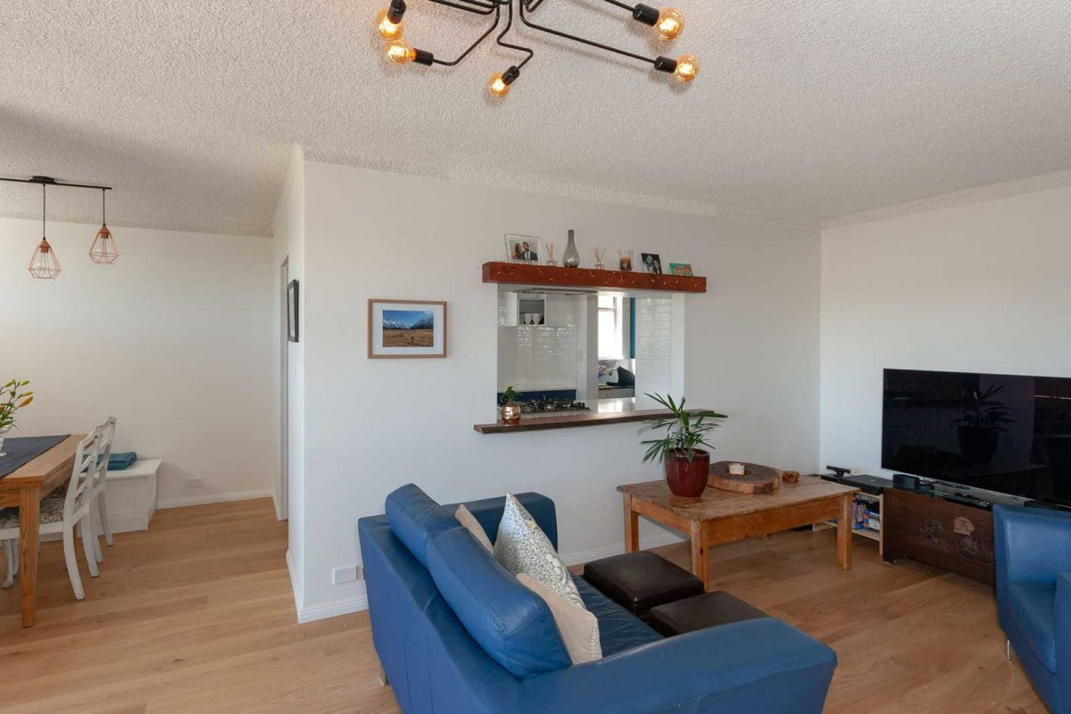 Apartment renovation Sydney unit renovation Chiswick living room Reno Pack