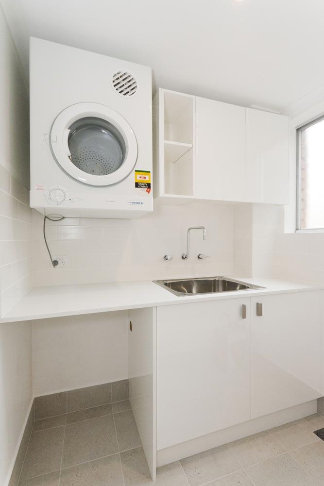 Apartment renovation Sydney, Glebe laundry renovation by Reno Pack Pty Ltd