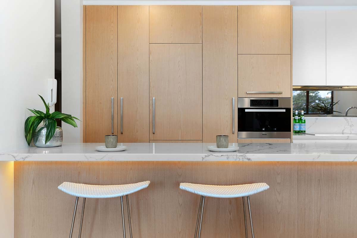 Apartment renovation Sydney unit renovation Neutral Bay kitchen by Reno Pack