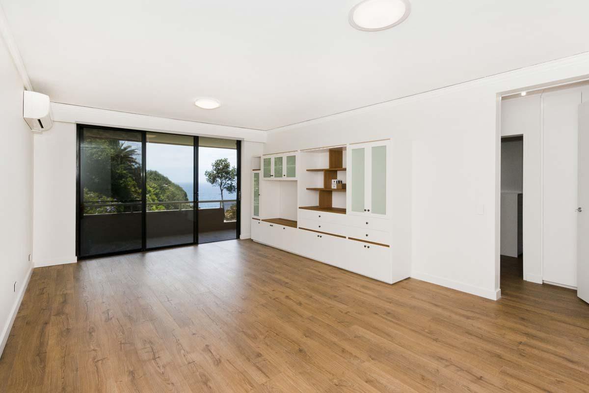 apartment renovation Sydney unit renovation Vaucluse living room by Reno Pack