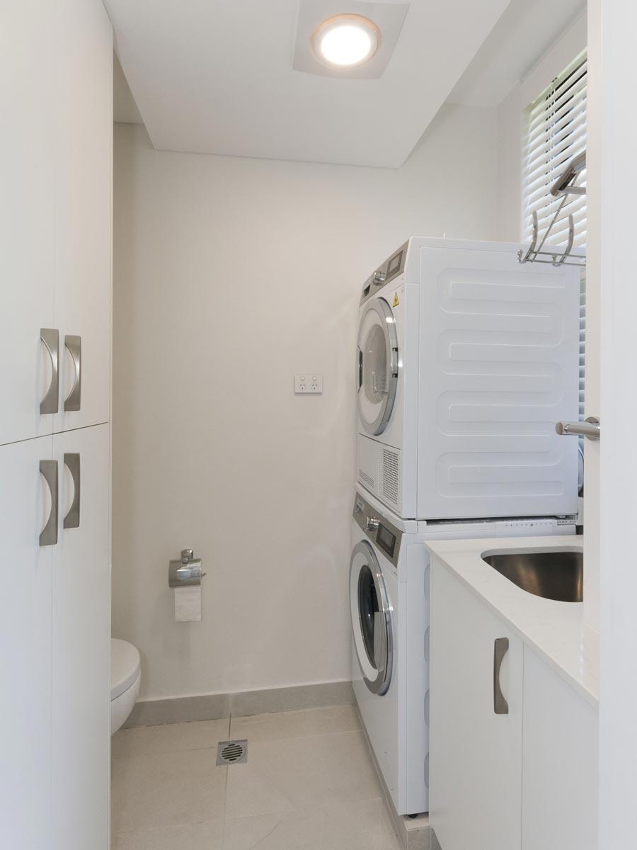 apartment renovation Sydney unit renovation Vaucluse laundry by Reno Pack