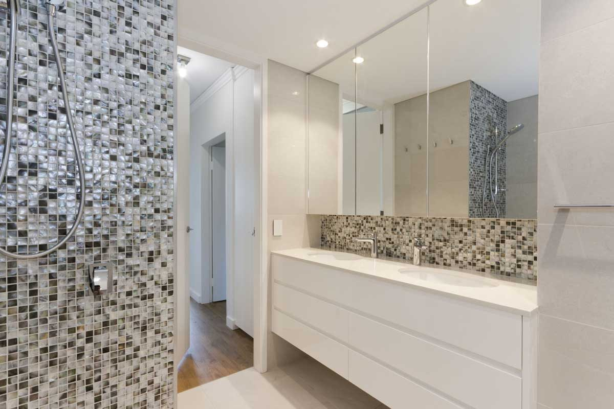 apartment renovation Sydney bathroom renovation Vaucluse by Reno Pack
