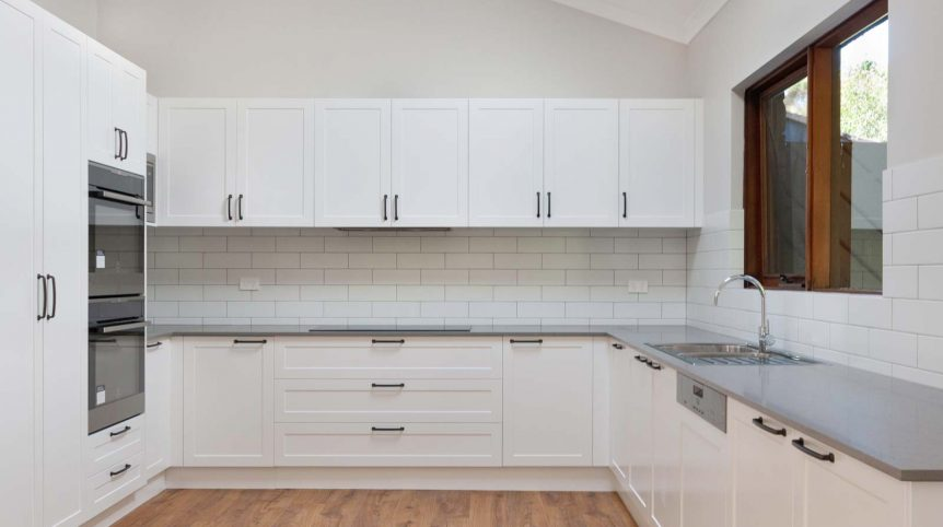 Caesarstone Oyster home renovation Sydney Castle Hill Reno Pack kitchen