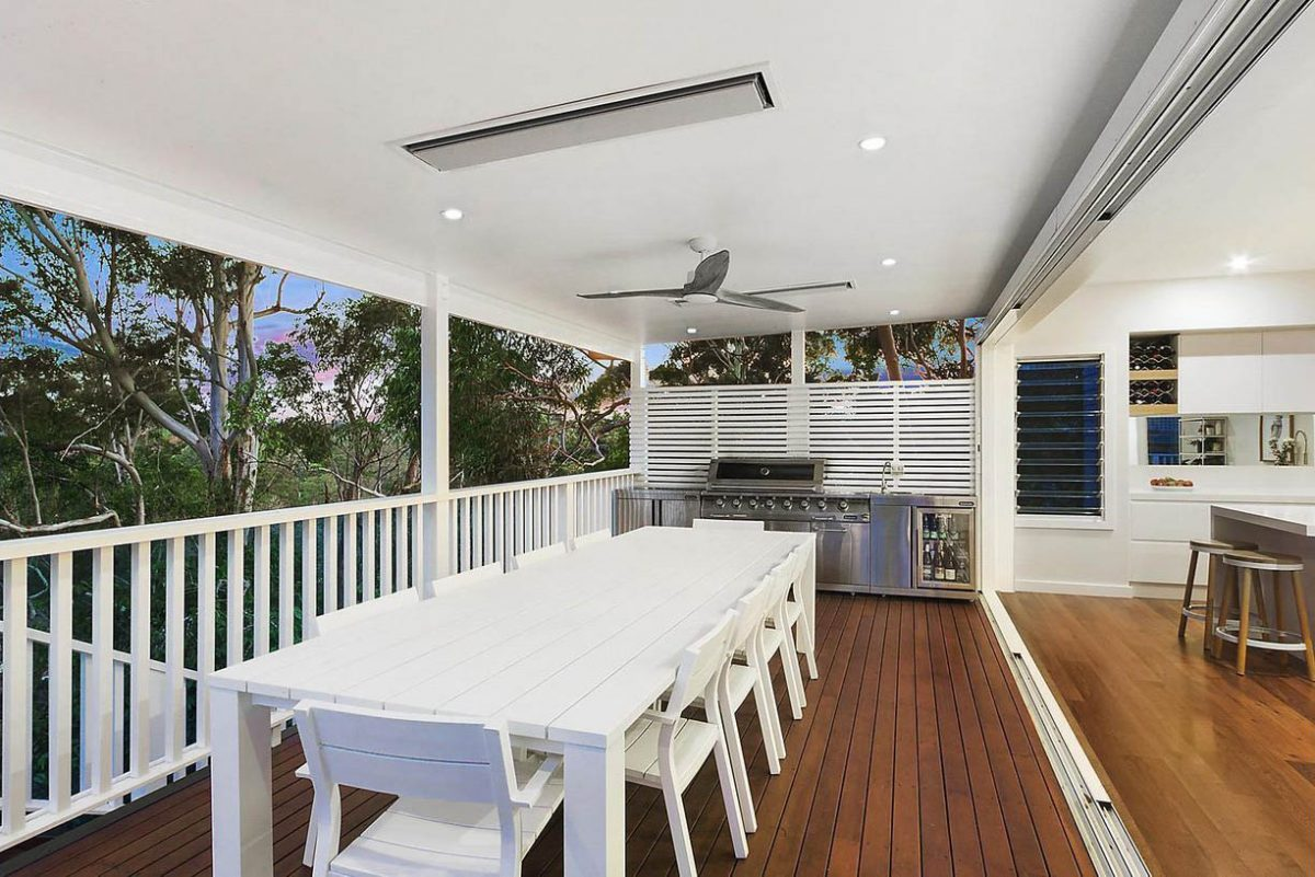 Home renovation Sydney, Hornsby, outdoor kitchen, alfresco dining