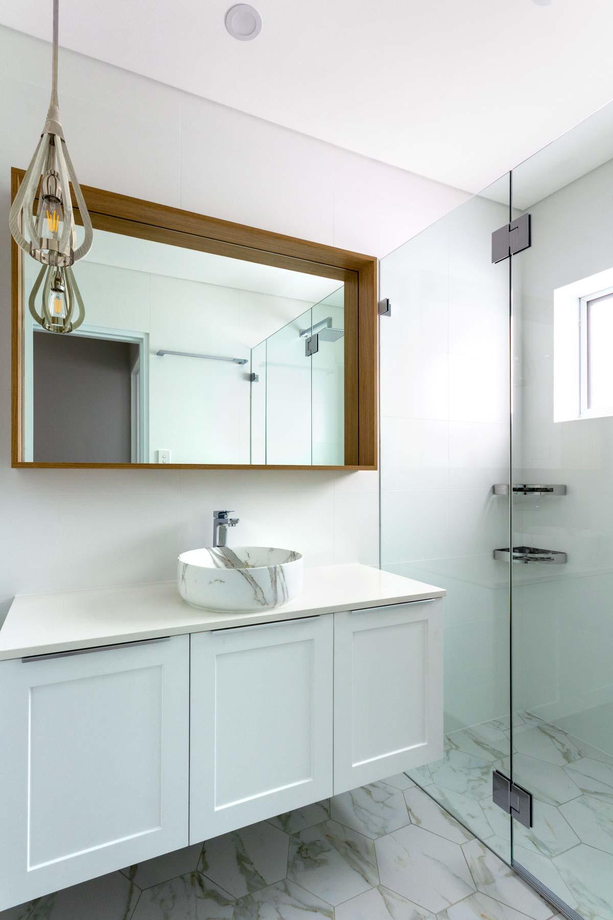 Apartment bathroom renovation Balmoral Sydney renovations Reno Pack